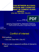 2809 Leung Wing Chu Alcohol Consumption and Cognitive Impairment in Chinese Older