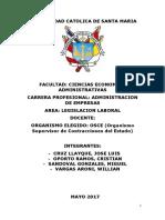 OSCE-Procedimientos administrativos para la renovacion del registro de ejecutor y consultor de obras
