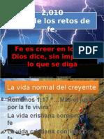 Retos de Fe IBE Callao 2,010