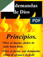 demandas de dios aniversario 16 IBE Callao.ppt