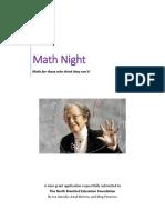 mathnight ed found mini-grant application