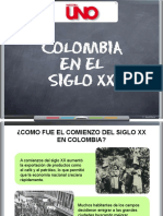 Colombia en El Siglo Xx