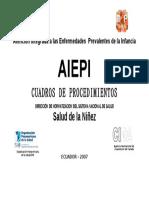 CARATULA Cuadros de Procedimientos AIEPI