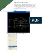 Tutorial SAP Mencari Berat Struktur Tiap Lantai