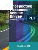 Prospective Passenger Vehicle Driver
