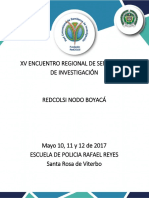 Convocatoria 15 Años Encuentro Regional de Semilleros de Investigación Nodo Boyaca 2017 (1)