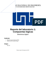 FPGA lab report on logic gates