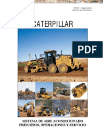 Manual Sistema Aire Acondicionado Maquinaria Pesada Caterpillar
