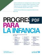 Progreso Para La Infancia Un Informe Sobre La Supervivencia de La Niñez