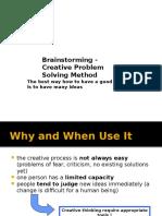 Chapter 6 Brainstorming(Elleven Steps)