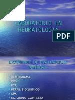 [Lab] Laboratorio Clínico - Reumatología