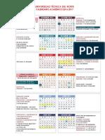 Calendario Utn 2016 2017