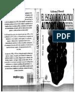 Odonnell Guillermo El Estado Burocratico Autoritario