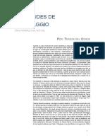 VICISITUDES DE CARAVAGGIO UNA PERSPECTIVA ACTUAL, Teresa del Conde