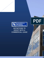 Commercial Lease Definitions