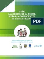 Guia Los Derechos Del Niño y Adol en El Area de Salud