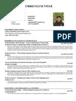 An Dongxu's CV