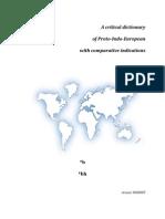 Proto-Indo-European Dictionary Graphemes *b *bh