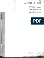 27. Apuntes de Obra I - Construcciones Para Arquitectos