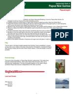 papua new guinea report