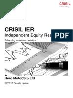 20161209 Hero-MotoCorp-Ltd IER QuarterlyUpdate INE158A01026