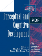 Rochel Gelman, Terry Kit-Fong Au (1996) Perceptual and Cognitive Development
