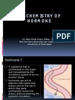 1. Biochemistry of Hormone