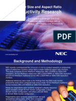 NEC Productivity Study 0208