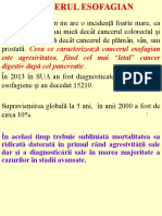 Curs Cancer Esofagian