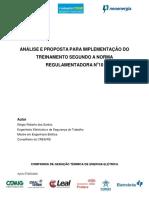 CT04 Artigo Analise e Proposta Para Implementacao Do Treinamento CGTEE