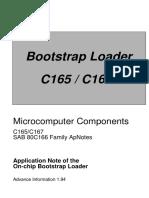 C167 Bootstrap SYSCON External RAM