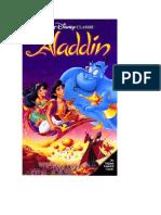 Aladdin Portada Pelicula Dvd