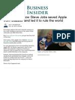 Steve Jobs Apple History in Photos - Business Insider