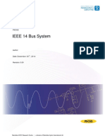 Ieee 14 Bus Technical Note