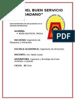 Aprovechamiento de Subproductos de La Industria Hortofruticola PAOLA