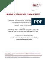 Asi Análisis de Las Evaluaciones de Riesgos Para Madera Controlada Realizadas Por Las Empresas