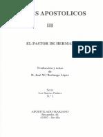 03 Padres Apostólicos III - El Pastor de Hermas OCR
