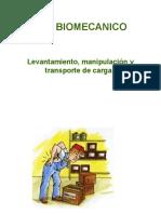 RIESGO BIOMECANICO - Levantamiento, Manipulacion y Transporte de Carga