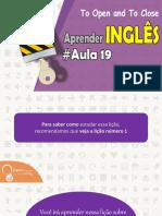 ● Aprender Inglês Em 30 aulas Aula #19 | English Channel ✔