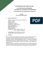 Administracion de Proyectos Informaticos