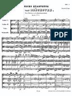 String Quartet Opus 18 No 4