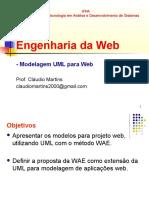 Modelagem web com uml