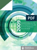 Agencia Canaria - Programa de Actuaciones 2009