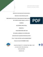 Proyecto Taller de Investigación II