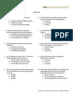 UFCD 4327 - Itinerários e Circuitos Turísticos (Teste Final)