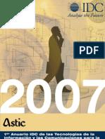 Anuario de las TIC para la administración pública y local 2007