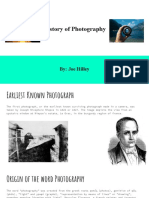 history of photography timeline assignment