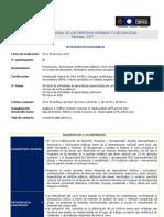CURSO INTERNACIONAL DE LOS DERECHOS HUMANOS Y DISCAPACIDAD