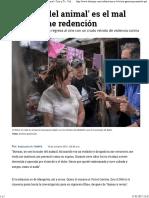 Gómez, 'La mujer del animal' es el mal que no tiene redención