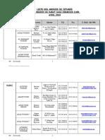 liste des agences de voyages.doc
